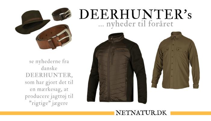 Deerhunters forårsnyheder Netnatur